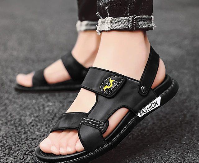 Sandale barbati piele naturala