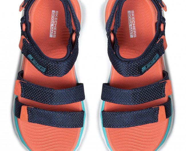 Sandale Skechers cu platforma groasa