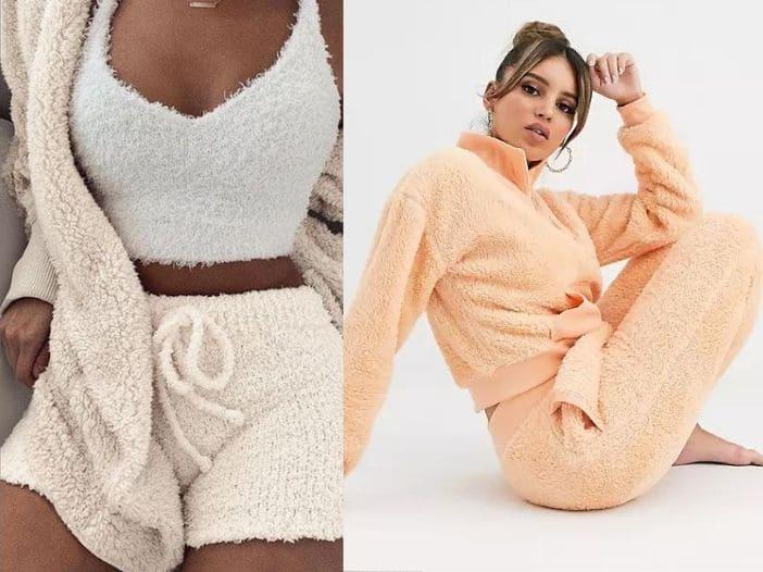Pijamale cocolino pufoase